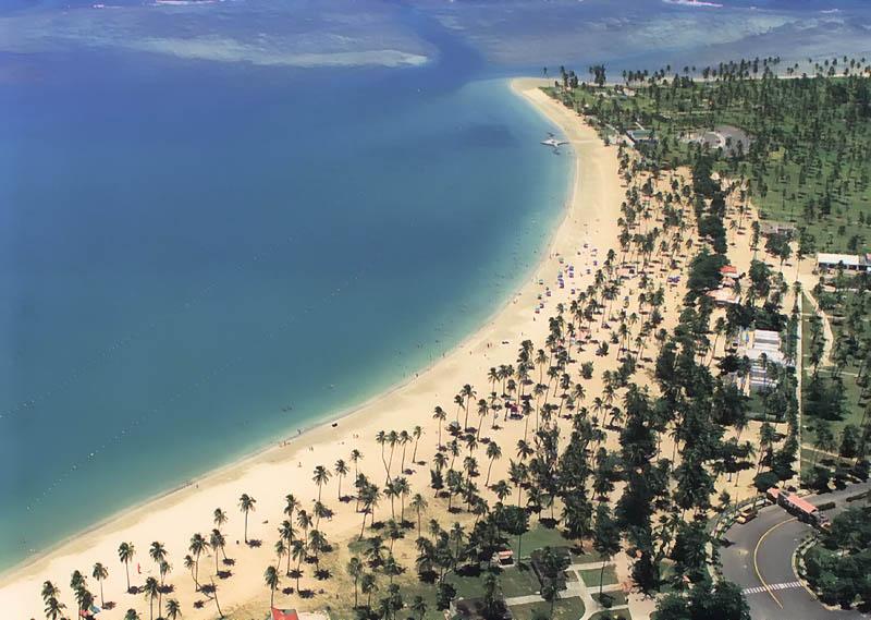 Playa de Luquillo Las mejores playas del Caribe