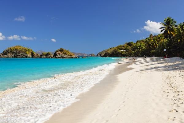 Trunk Bay Las mejores playas del Caribe