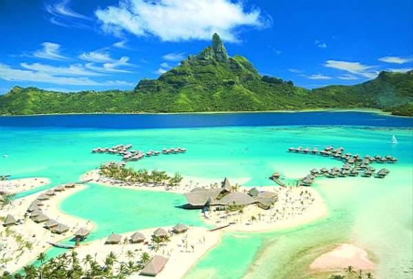 Polinesia francesa Bora Bora Las 16 islas más hermosas del mundo