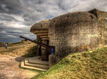 Normandía, Batería Longues