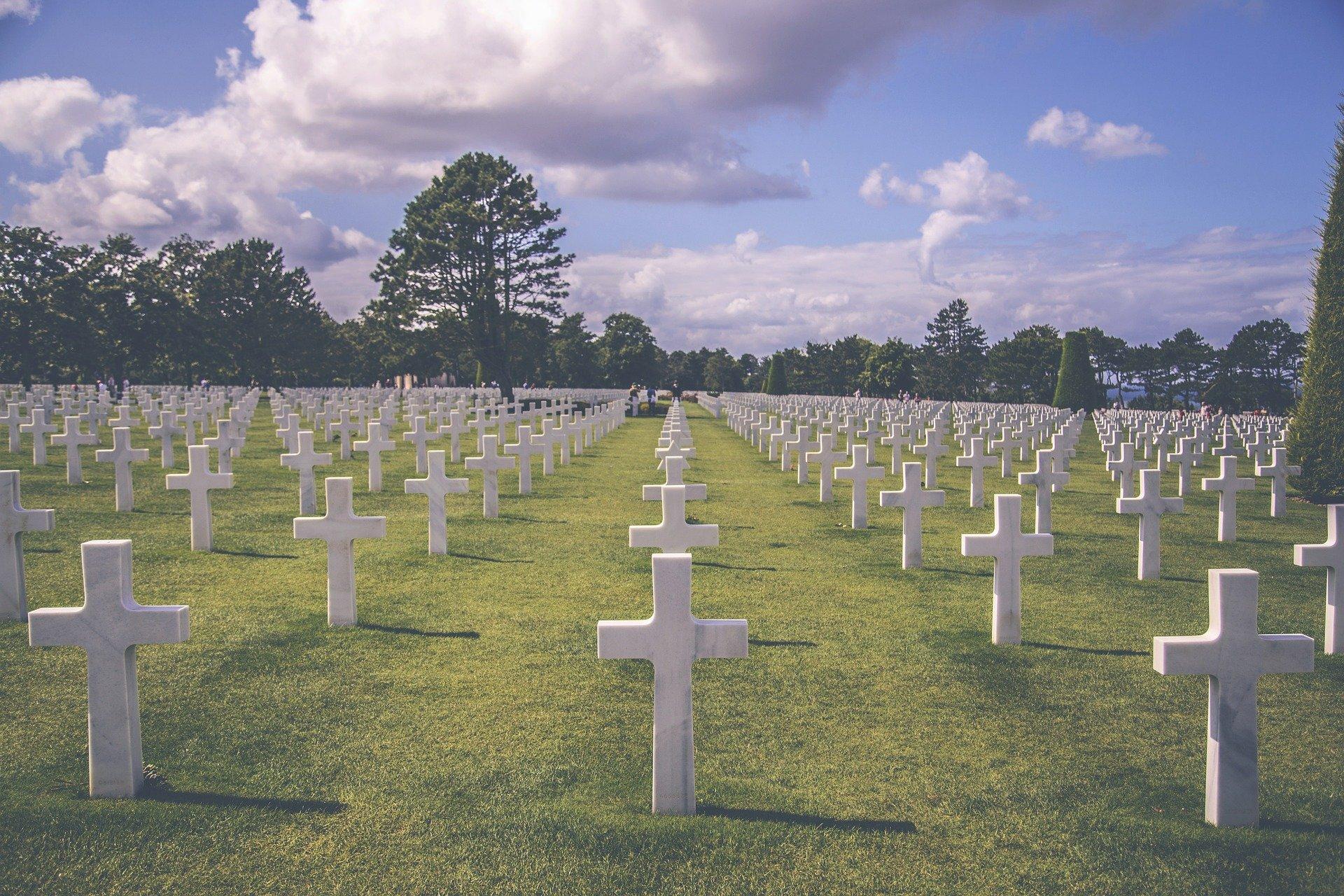 Cementerio de Colleville, Normandía