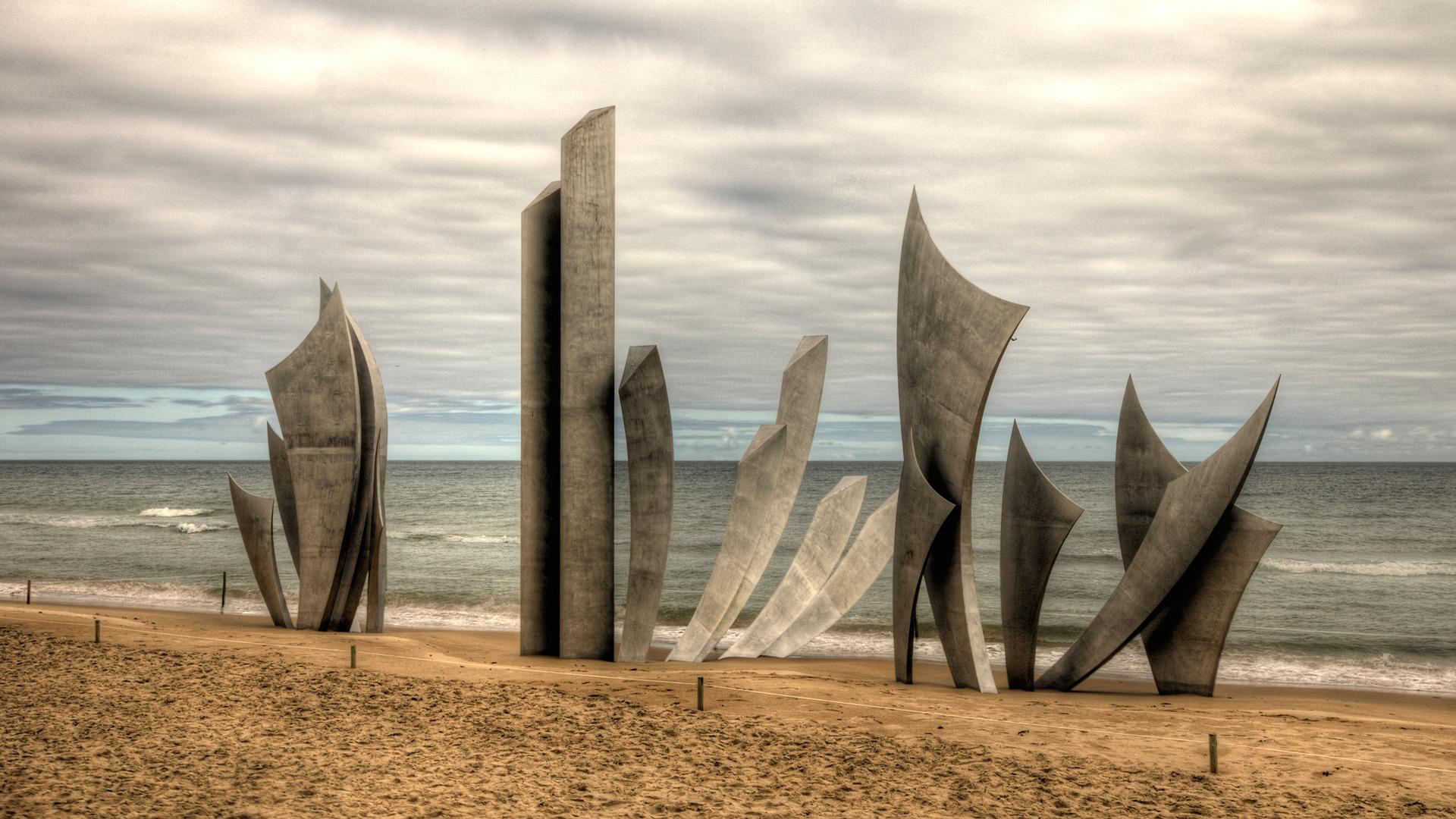 Omaha Beach, Normandí
